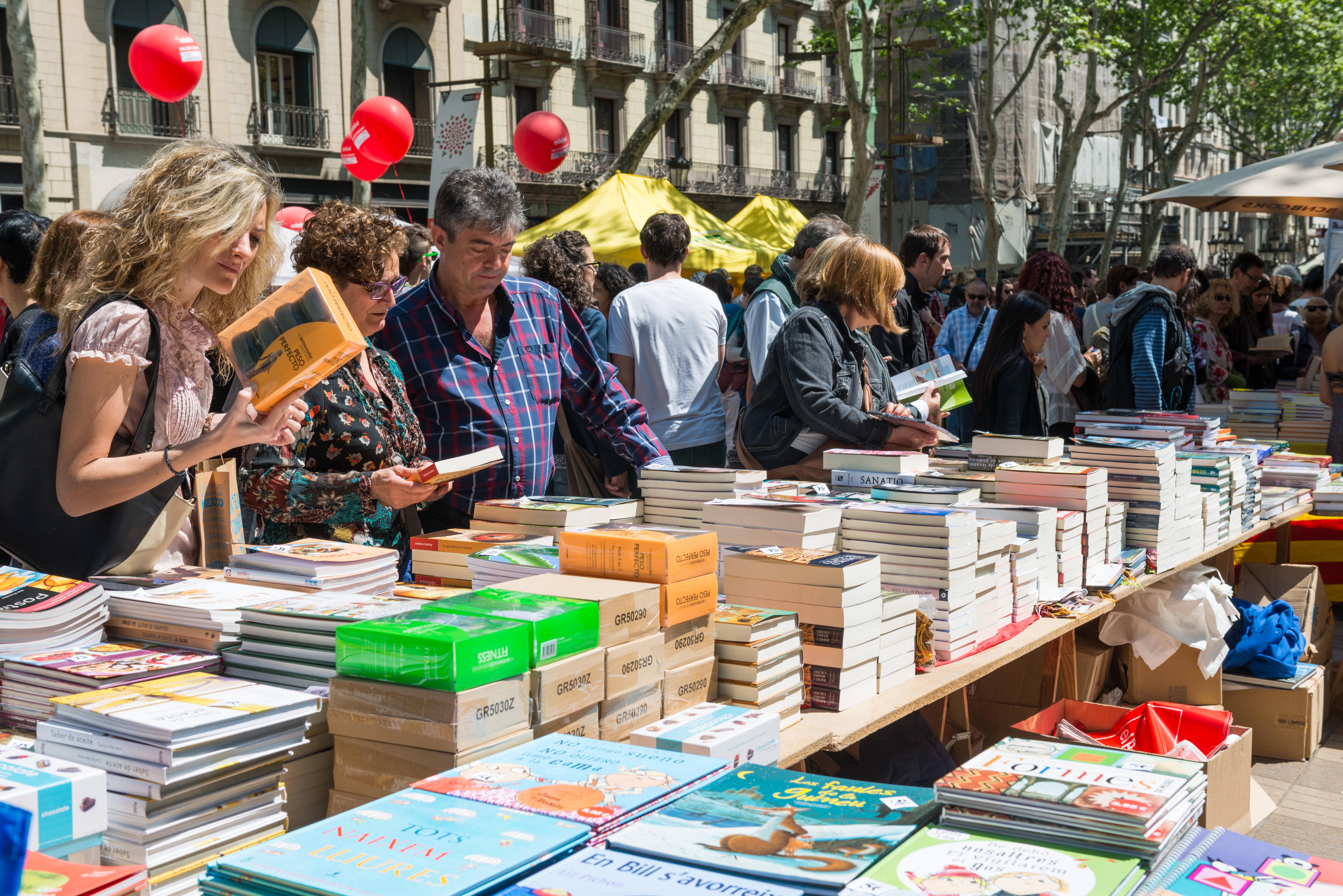 Libros para una visita a Barcelona