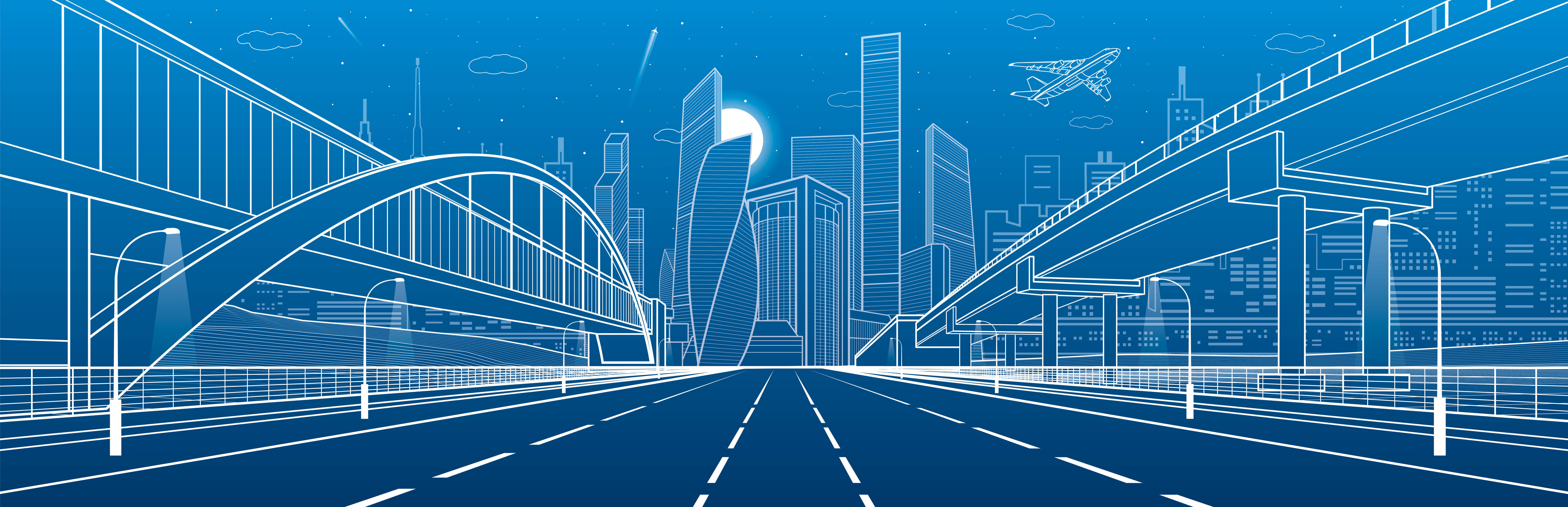 Imagina cómo serán las carreteras del futuro